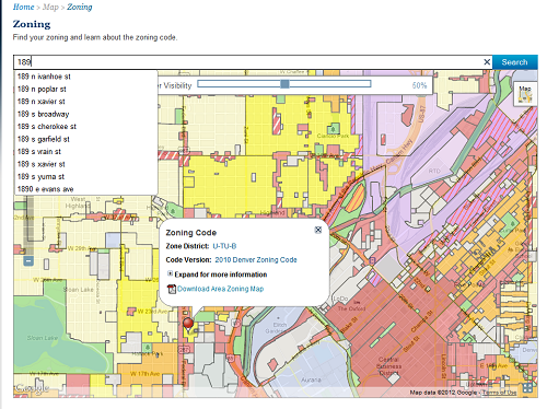 How the Public Actually Uses Local Government Web Maps: Metrics from Denver Zoning Map on